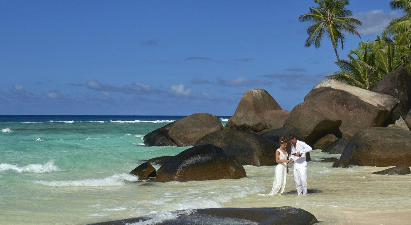 Почивка Сейшелите в Hilton Seychelles Labriz Resort & Spa сватба