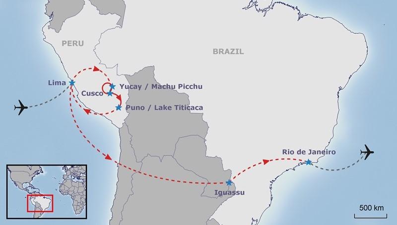 Перу и Бразилия