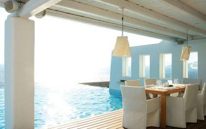 Дизайнерски хотели- Cavo Tagoo, Миконос