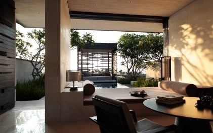 Дизайнерски хотели- Alila Villas Uluwatu, Бали